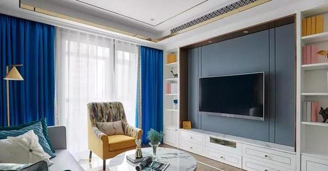 贵阳装修公司分享98㎡的美式风格新家设计,时尚优雅,端庄大气