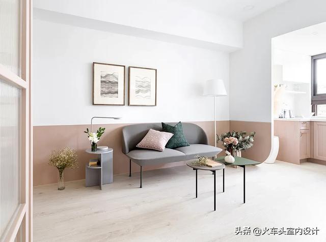 清新北欧风格浪漫配色 _子墨设计工作室案例分享_贵阳装修