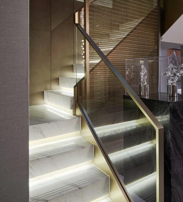 贵阳装修设计公司最新作品:高级灰+轻奢风装修效果,精致时尚格调!