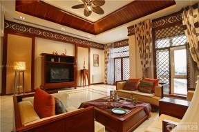 东南亚风格实木家具 独栋别墅