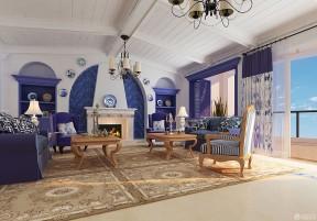 别墅内部 地中海风格别墅