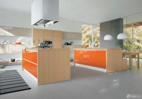 橙色橱柜 独栋别墅
