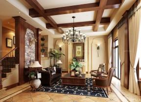 别墅内部装修效果图 小客厅装修