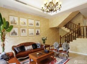 别墅内部装修效果图 家装客厅装修