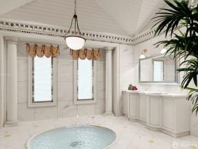 豪华别墅内部图片 浴室装修
