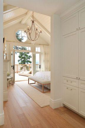 小卧室装饰设计实景 独栋别墅效果图