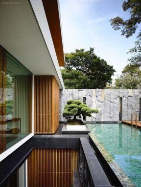 别墅景观水池