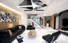 后现代客厅家装效果图 2018后现代客厅装修风格