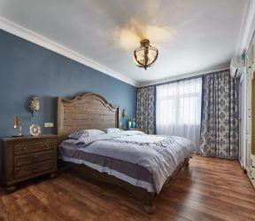 卧室木地板装修效果图 2019卧室木地板效果图