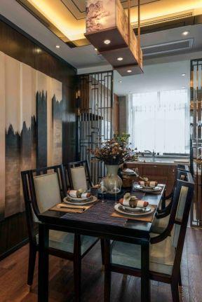 中式风格餐厅装修设计 中式风格餐厅案例