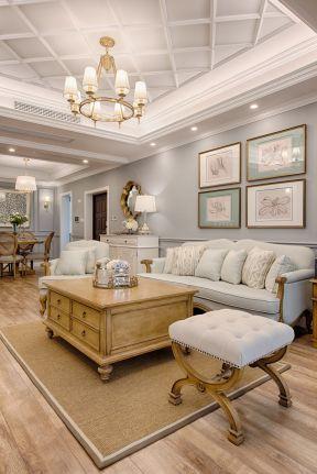 美式风格客厅效果图 美式风格客厅图片