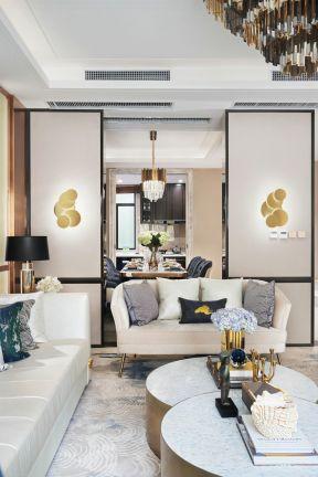 复式客厅装修效果图大全 复式客厅装修图 客厅移门隔断