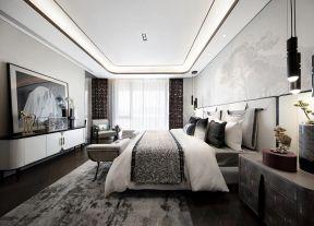 新中式卧室装修效果图大全2019图片 复式楼卧室装修图 复式楼卧室装修