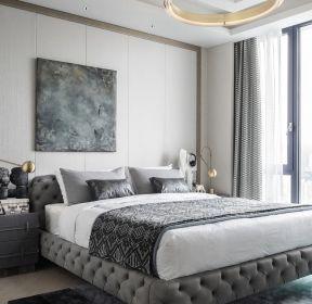 235平现代复式楼卧室装修设计效果图片-每日推荐