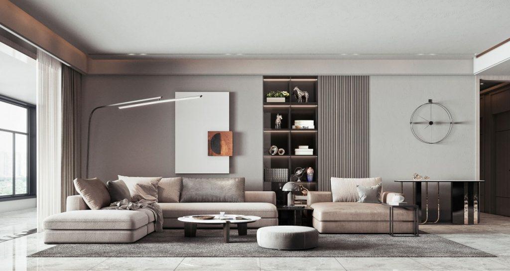 现代简约风格装修效果图-简约风格墙面颜色?有什么特点?