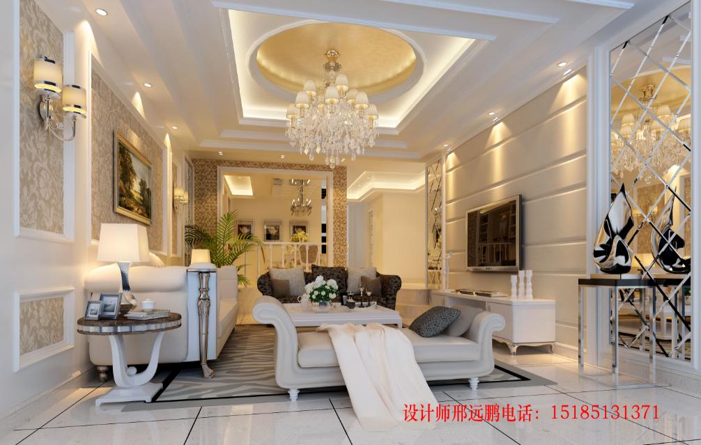 """贵州室内设计师""""邢远鹏""""-别墅大宅装修设计案例分享"""