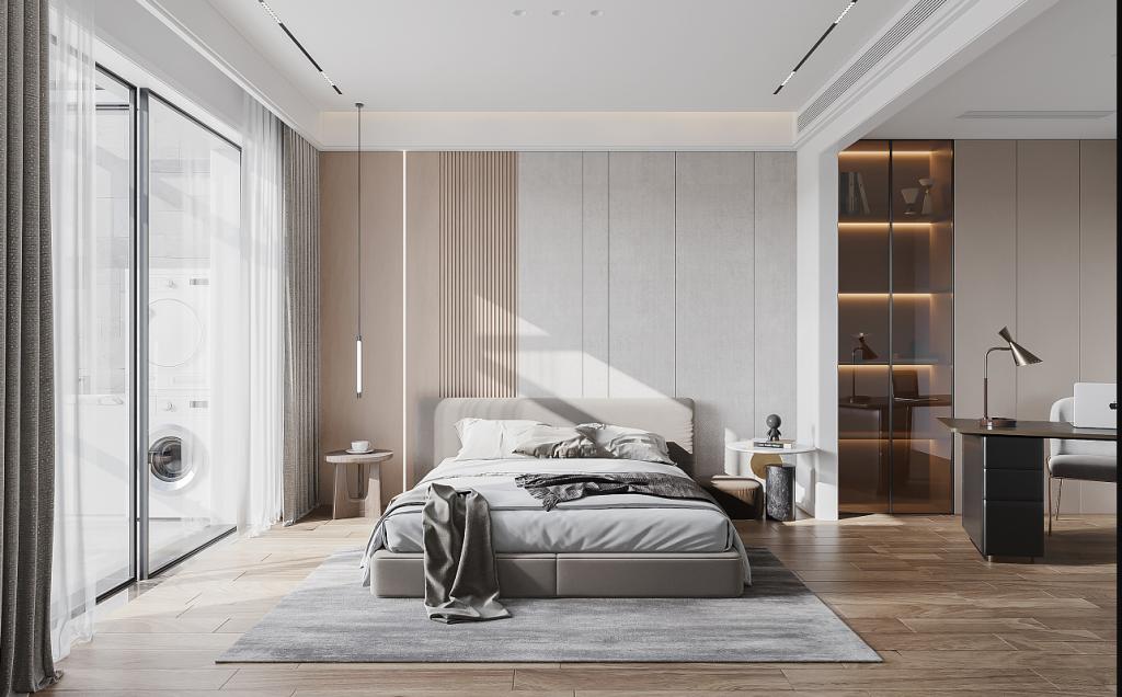 """贵州室内设计师经典案例分享:""""家居留白实景   衍生"""""""