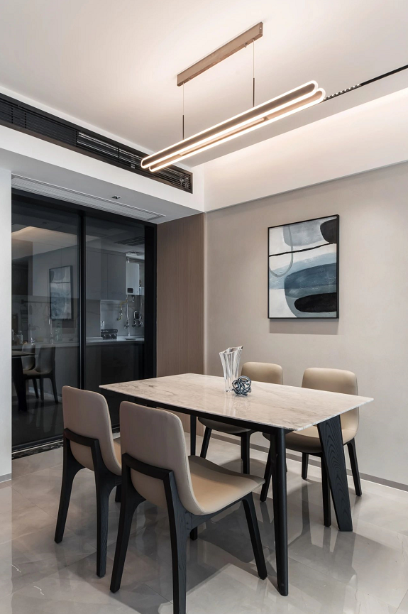 家装实景| 简约凝练的现代装修设计风格,愉悦的生活氛围-贵阳杰出室内设计师邢远鹏